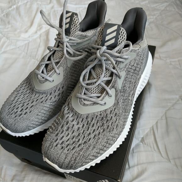 Adidas Alphabounce EM Gray Womens 10.5 NWT